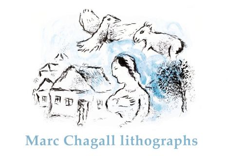 Marc Chagall lithographs and posters
